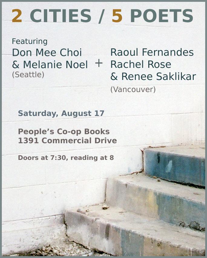 2 Cities 5 Poets